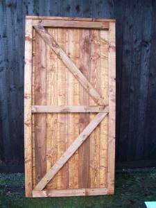 CLOSEBOARD FULLY FRAMED FLAT TOP GATE (3)